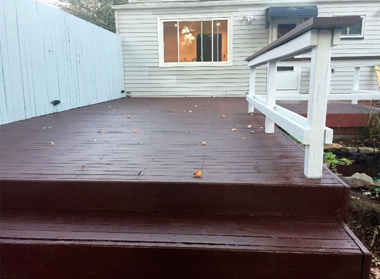 Deck View After